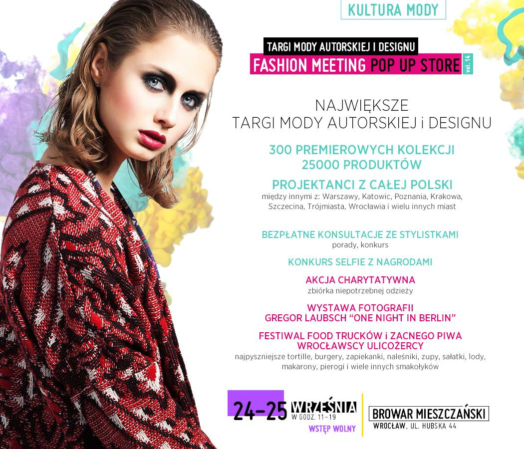 Wrocław Fashion Meeting Pop Up Store 2016